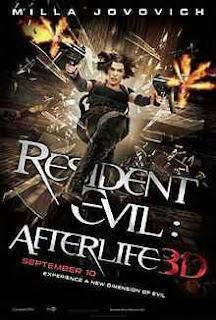 Resident Evil Afterlife (2010) Hindi Dual Audio Movie 200Mb hevc BRRip