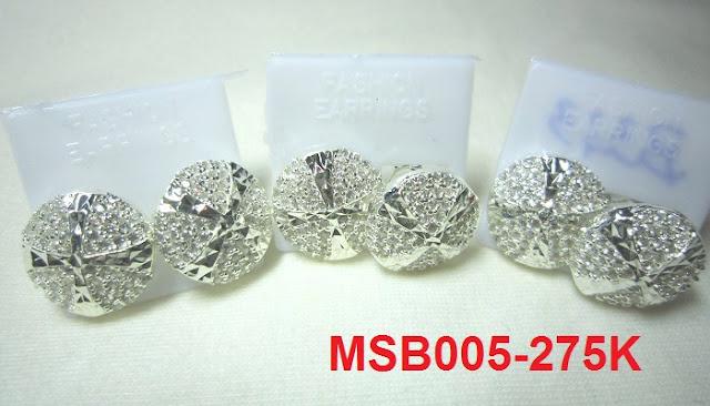 Bông tai họa tiết tròn MS-B005- Giá: 275,000 VNĐ - Liên hệ mua hàng: 0906 846366(Mr.Giang)