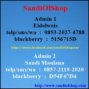 sandiolshop.com pemesanan sandi maulana tlp/sms/wa 085721192020  pin  : D54D47D4