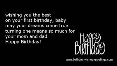 Wishes Quotes Blog Top 20 Images 1st Birthday Wishes Messages – First Birthday Greeting Messages