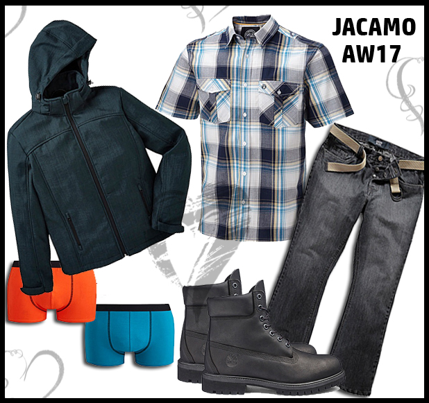 Menswear style challenge with Jacamo AW17