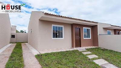 Casa com 03 Quartos e Zero de Entrada - Piraquara