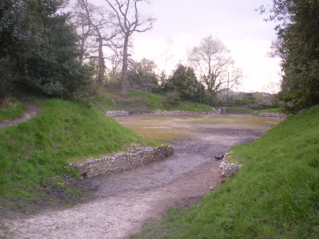 The Remains of an old Roman Amphitheatre