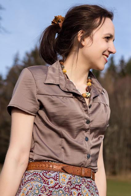 Nähen | Schösschenbluse | Hemdbluse | Dolores - Milchmonster