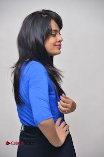 Actress Nandita Swetha Stills in Black Mini Skirt at Ekkadiki Potavu Chinnavada Movie Special Show  0029.JPG
