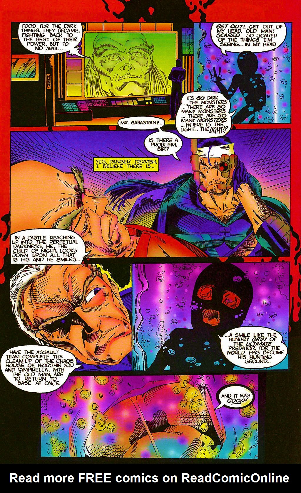 Read online Chains of Chaos comic -  Issue #1 - 14