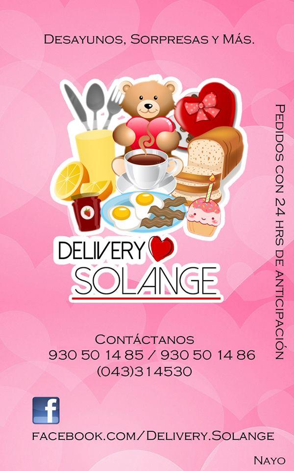 Delivery Solange – Desayunos, regalos y más