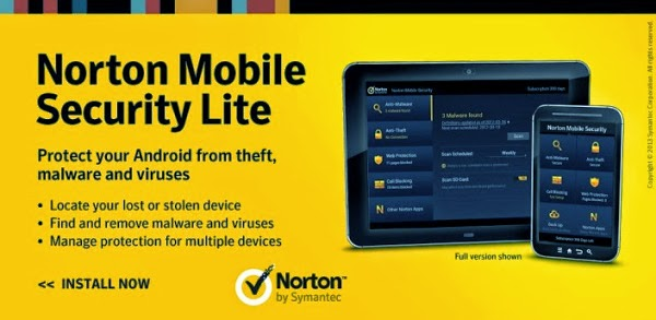 top antivirus android norton