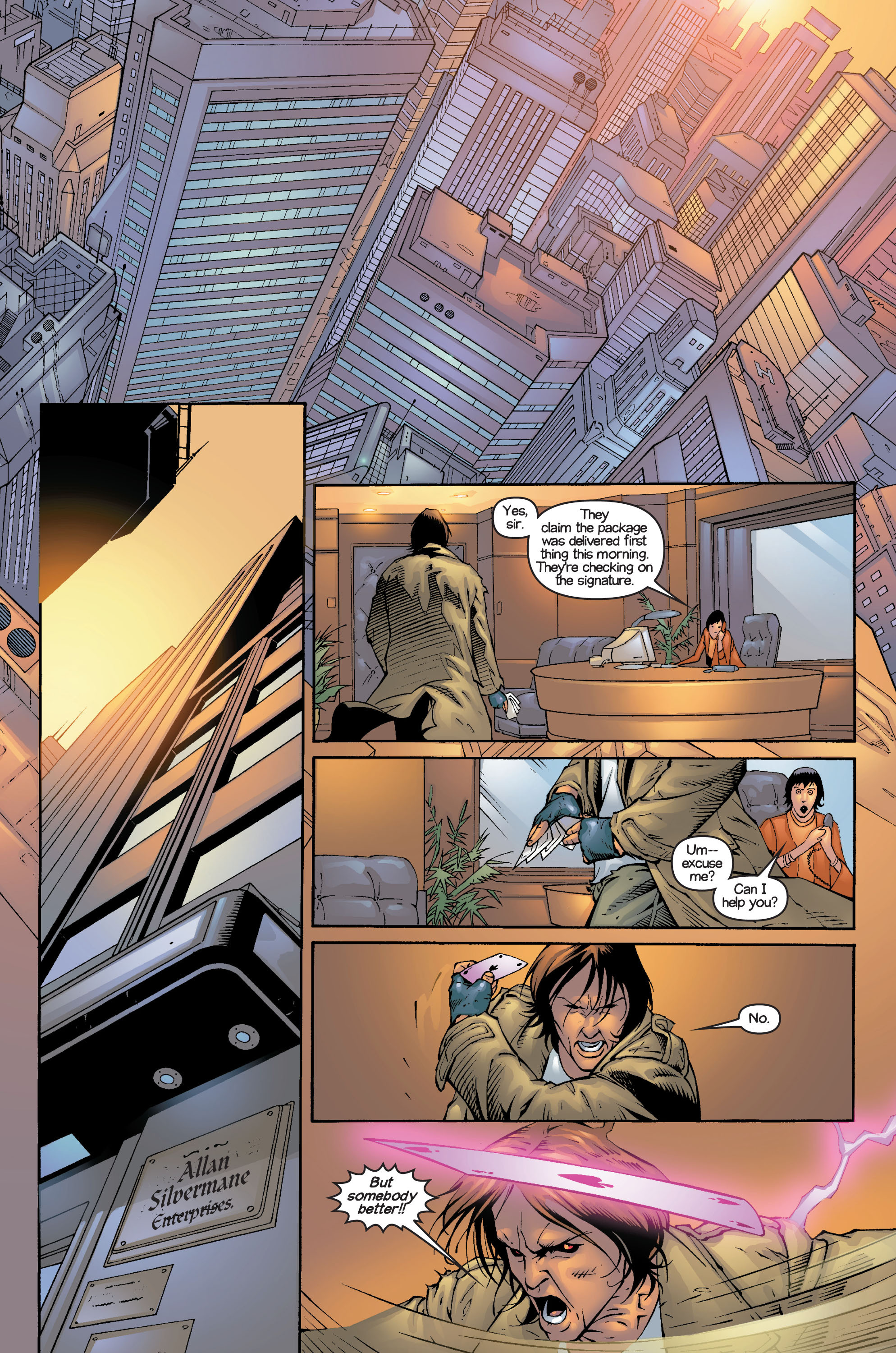 Read online Ultimate X-Men comic -  Issue #14 - 13