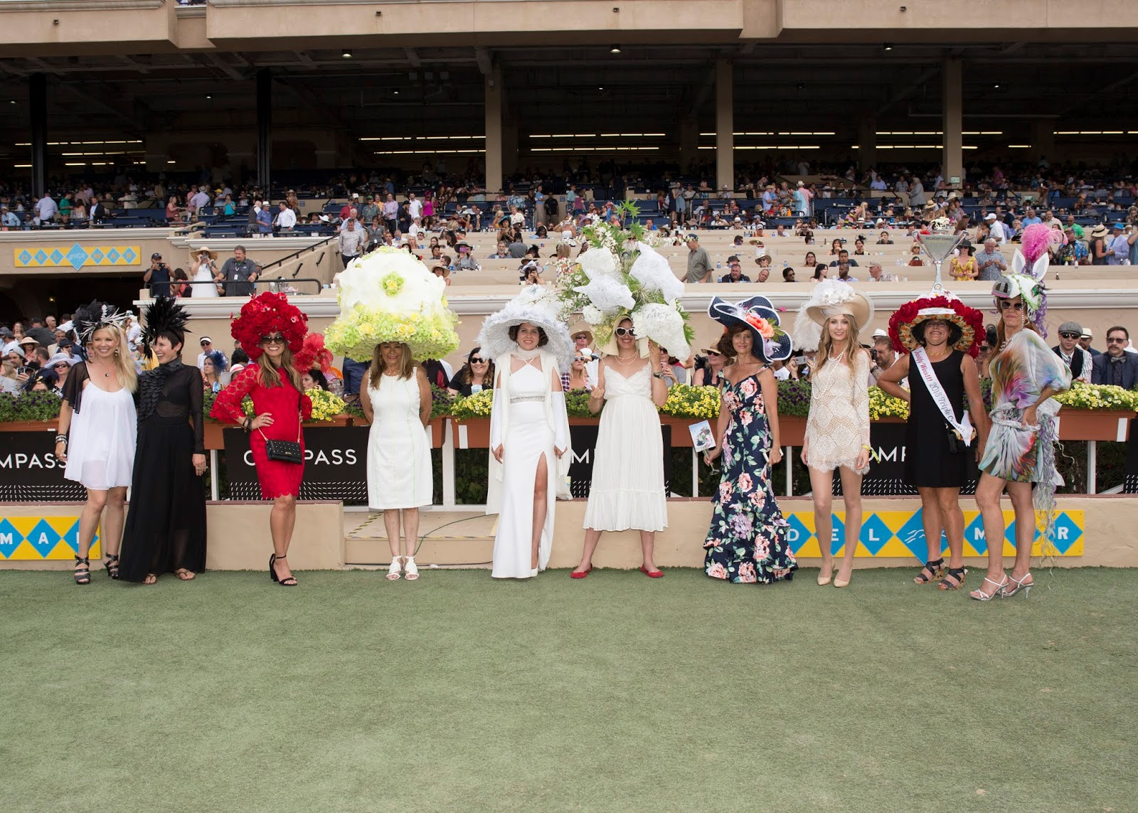 del mar opening day hat contest 2018, del mar opening day hat contest 2018 finalists