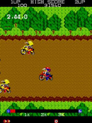 街機:趣味越野摩托車+金手指作弊碼,小品休閒機車運動遊戲!