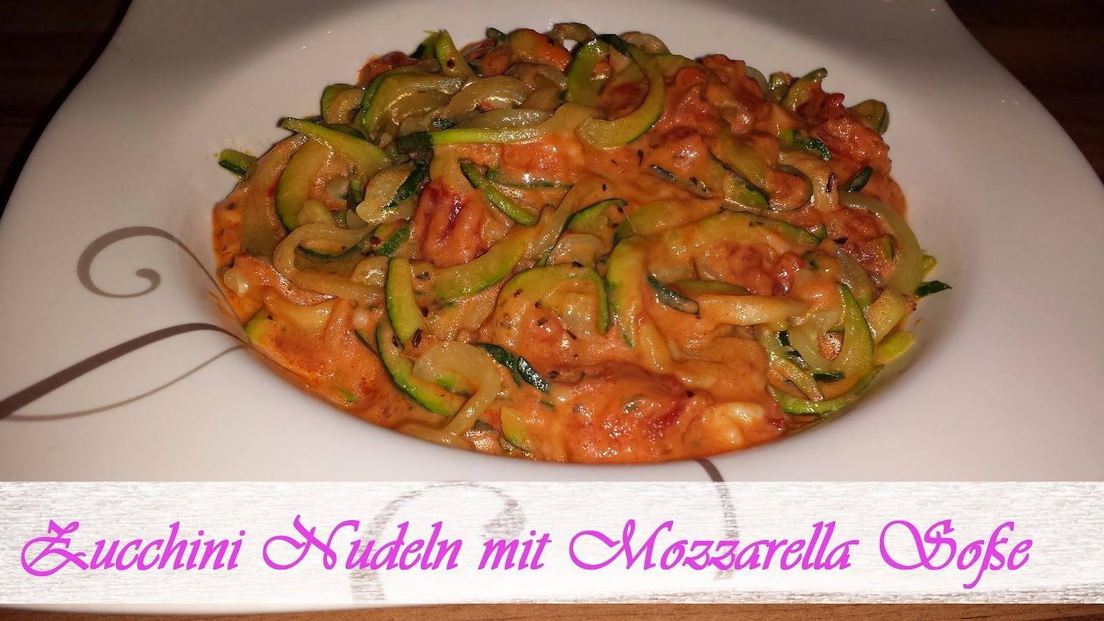 mozzarella nudeln low carb