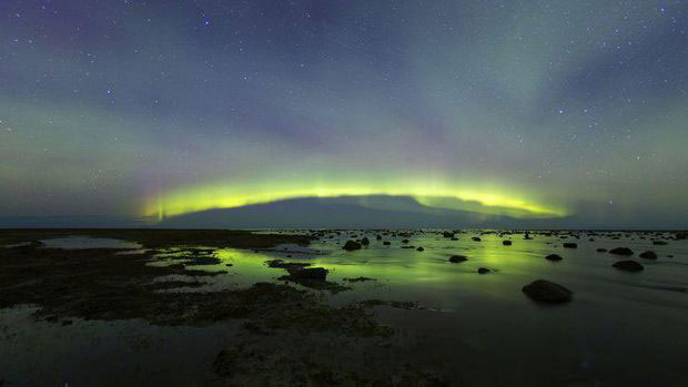 Best Aurora Picture at Seal River Heritage Lodge, Churchill, Canada