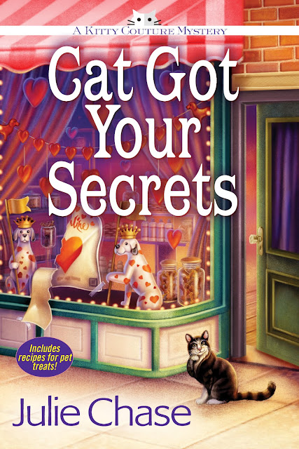 Cat Got Your Secrets (Kitty Couture Mystery Book 3) by Julie Chase