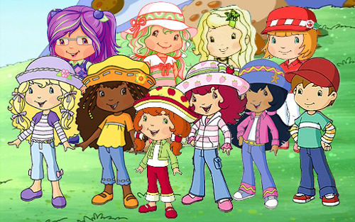 Rainbow Disconnection: Then and Now : Strawberry Shortcake
