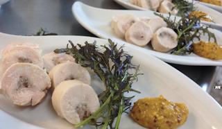出張料理:鶏肉とマッシュルームのヴァロティーヌ