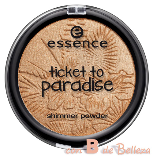 Shimmer powder Tropical heat