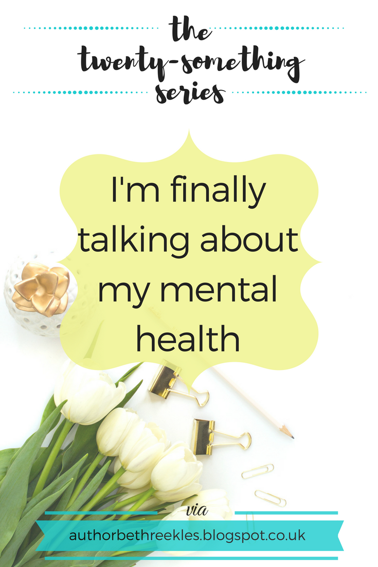 It's mental health awareness week and I've finally opened up about my own mental health.