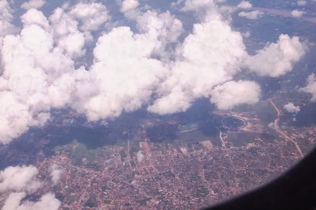 Thailand-view タイの上空
