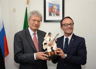 Consolato russo a Napoli, serata con istituzioni e aziende campane