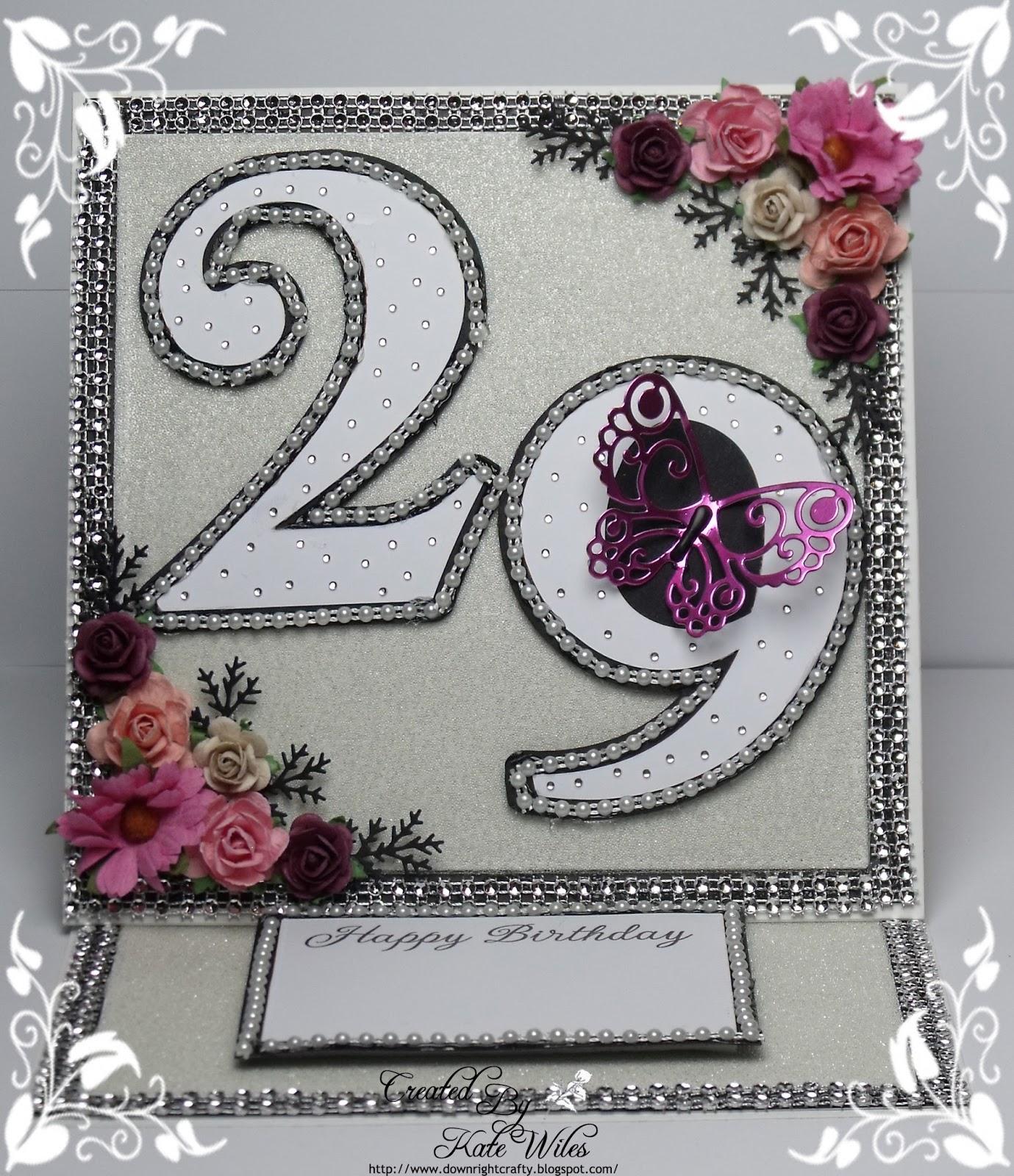 Downrightcrafty: Happy 29th Birthday