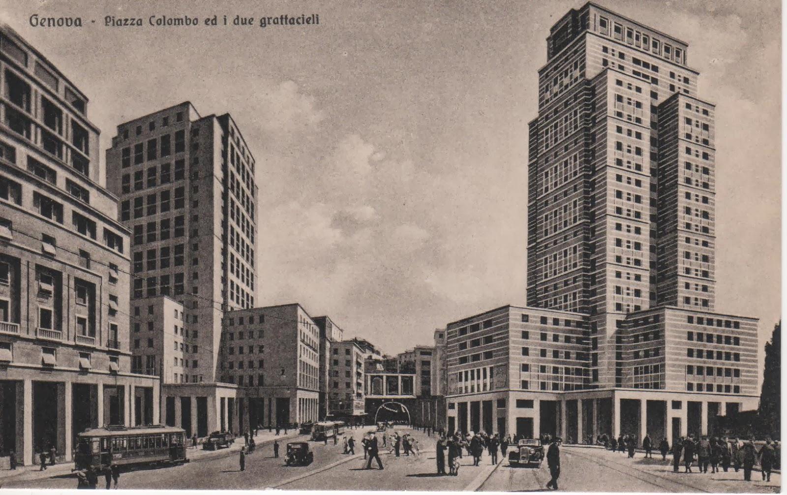 C 39 era una volta genova via dante e piazza dante for Arredo bagno via gramsci genova