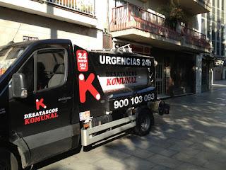 Servicio urgente de camión para desatascos < Terrassa >
