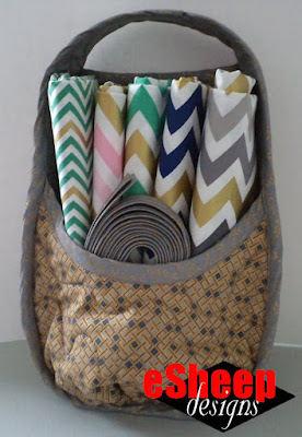 Nancy Zieman Best Nest Organizer Basket crafted by eSheep Designs