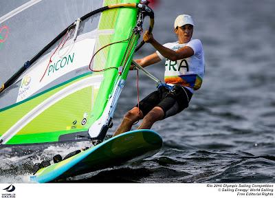 Charline Picon, 2e des Jeux Olympiques en RSX, poursuit la compétition aujourd'hui