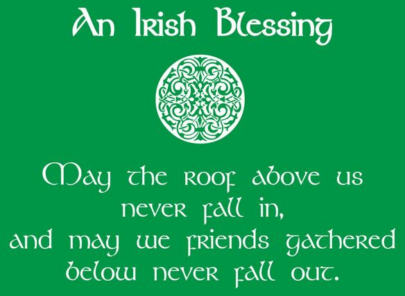Blessing St Patrick's Day Quote 2018