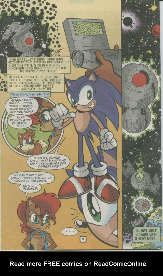 Read online Sonic The Hedgehog comic -  Issue #73 - 12