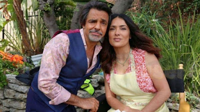 How to be a Latin Lover Movie Image Salma Hayek and Eugenio Derbez
