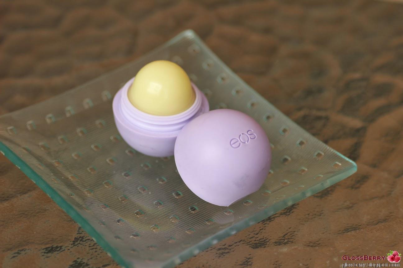 ביצת ליפ באלם לשפתיים Evolution of Smooth Lip Balm EOS סגול