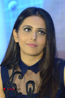 Actress Rakul Preet Singh Stills in Beautiful Blue Long Dress at Dhruva Salute to Audience Event  0048.JPG