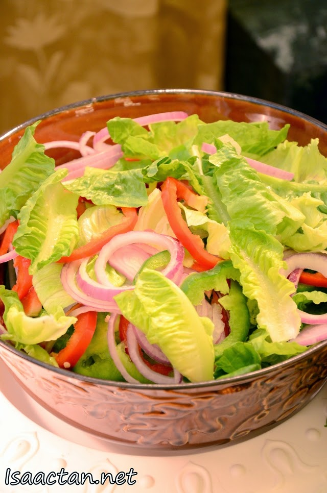 Salad to kick start your appetite for heavier dishes