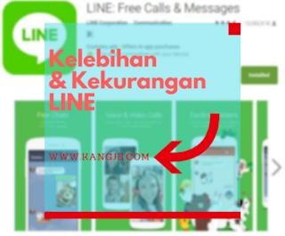 Mengenali Kelebihan Dan Kekurangan Line Dibandingkan Aplikasi Chat Lain