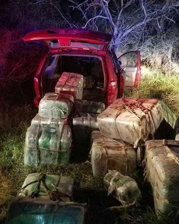 Patrulla Fronteriza Detiene a traficante mexicano de 15 años con 625 kilos de mota