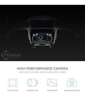 gimbal 2 axis kamera drone dji spark indonesia - pramud blog
