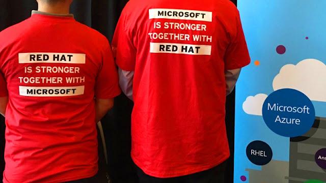 Microsoft e Red Hat fazem parceria