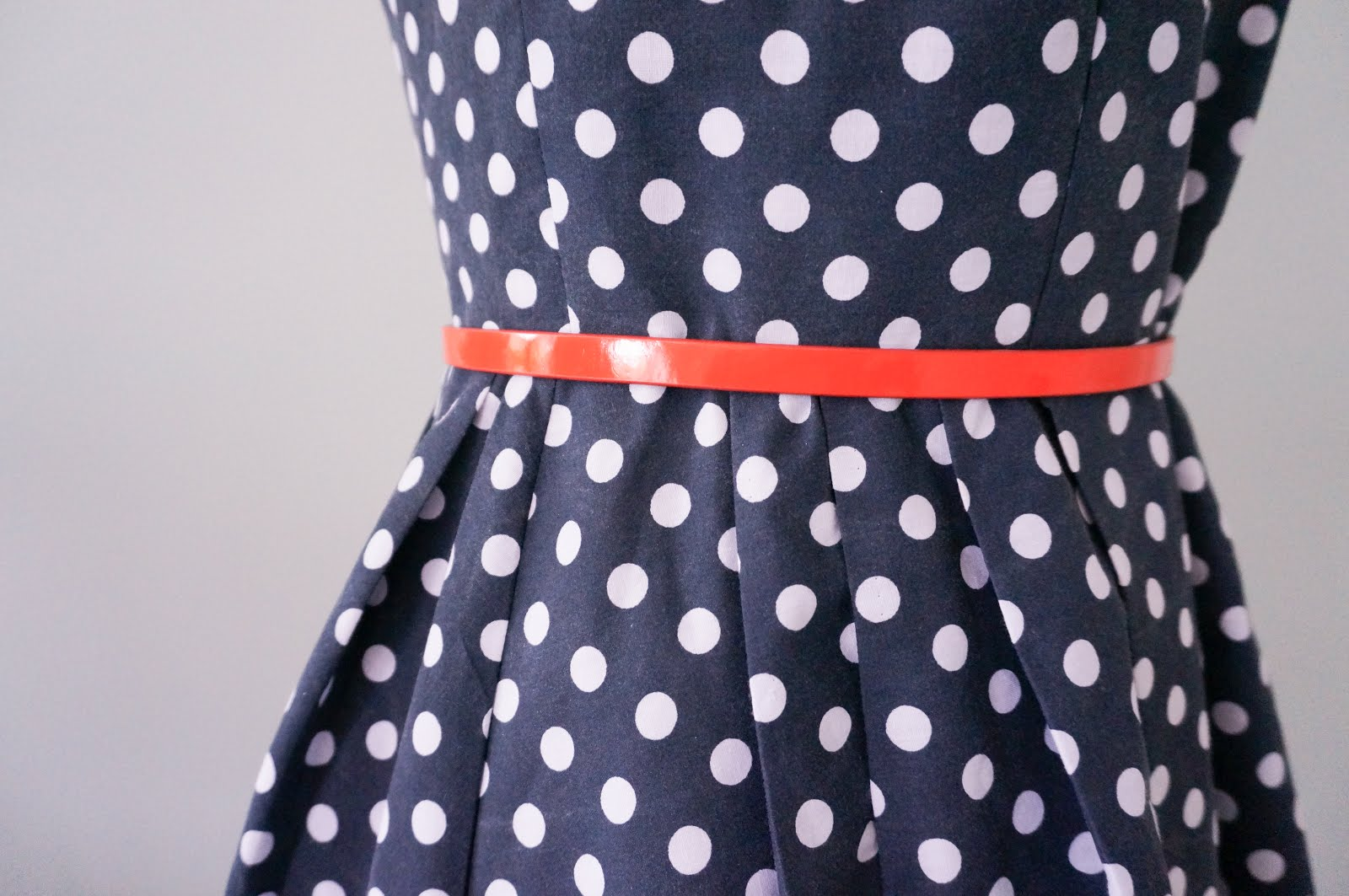 Tilly and the Buttons Lilou dress pleats