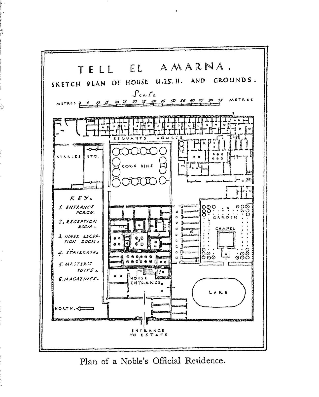 The ancient egypt el amarna the private houses the official 528229privatehouseg ccuart Choice Image