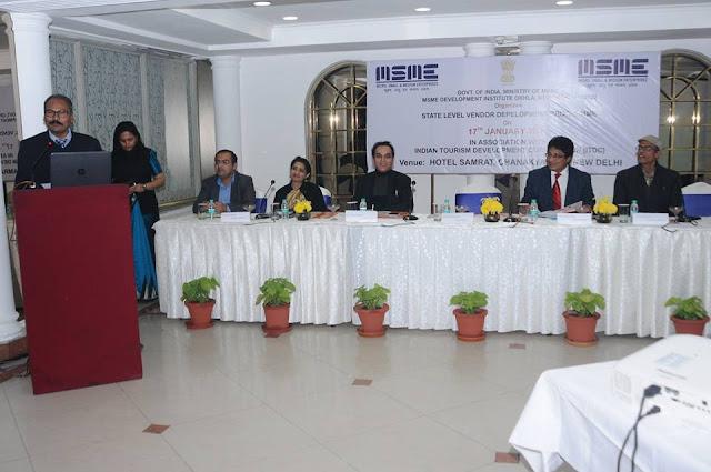 11 MSME Development Institute, New Delhi organized a State Level Vendor Development Programme