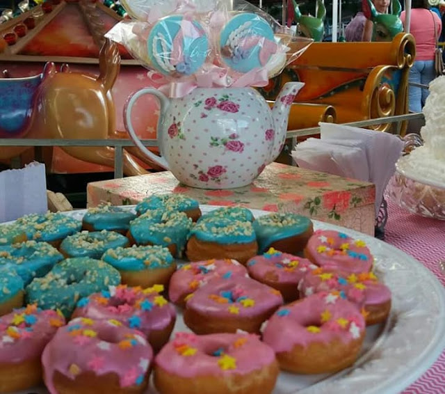 #festainfantojuvenil,  #festinhas, #festaludica, #ludicidade,#criatividade ,#pinterest,#festanoparque, #aniversariodiferente, #festademenina, #donuts,