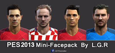 PES 2013 Mini-Facepack By L.G.R