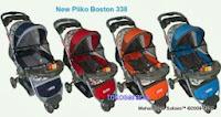 Kereta Bayi Pliko PK338 Boston Roda Tiga