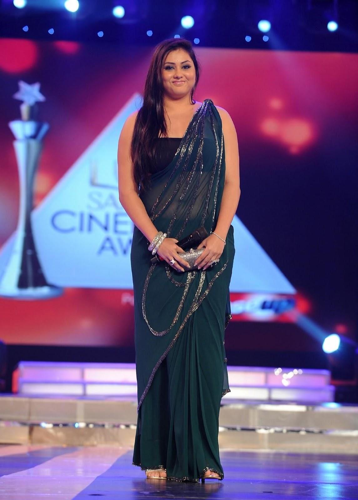 Namitha Maya at lux cinema award 2012 - latest stills 016