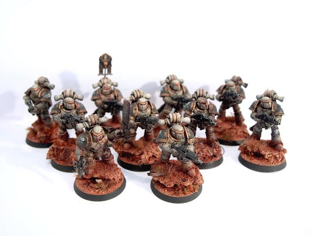 Death Guard Legion Tactical Squad