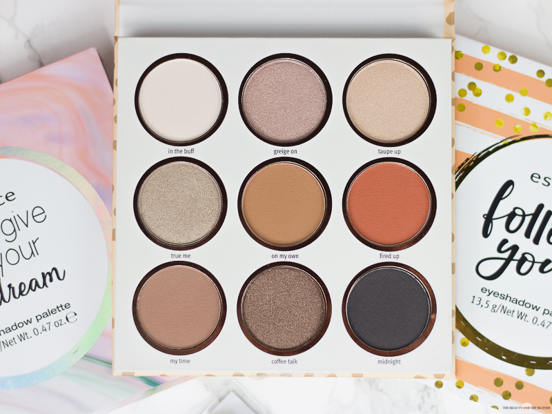 essence Update Herbst/Winter 2018 be you tiful eyeshadow palette