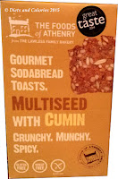 Multiseed with cumin Gourmet Sodabread Toasts