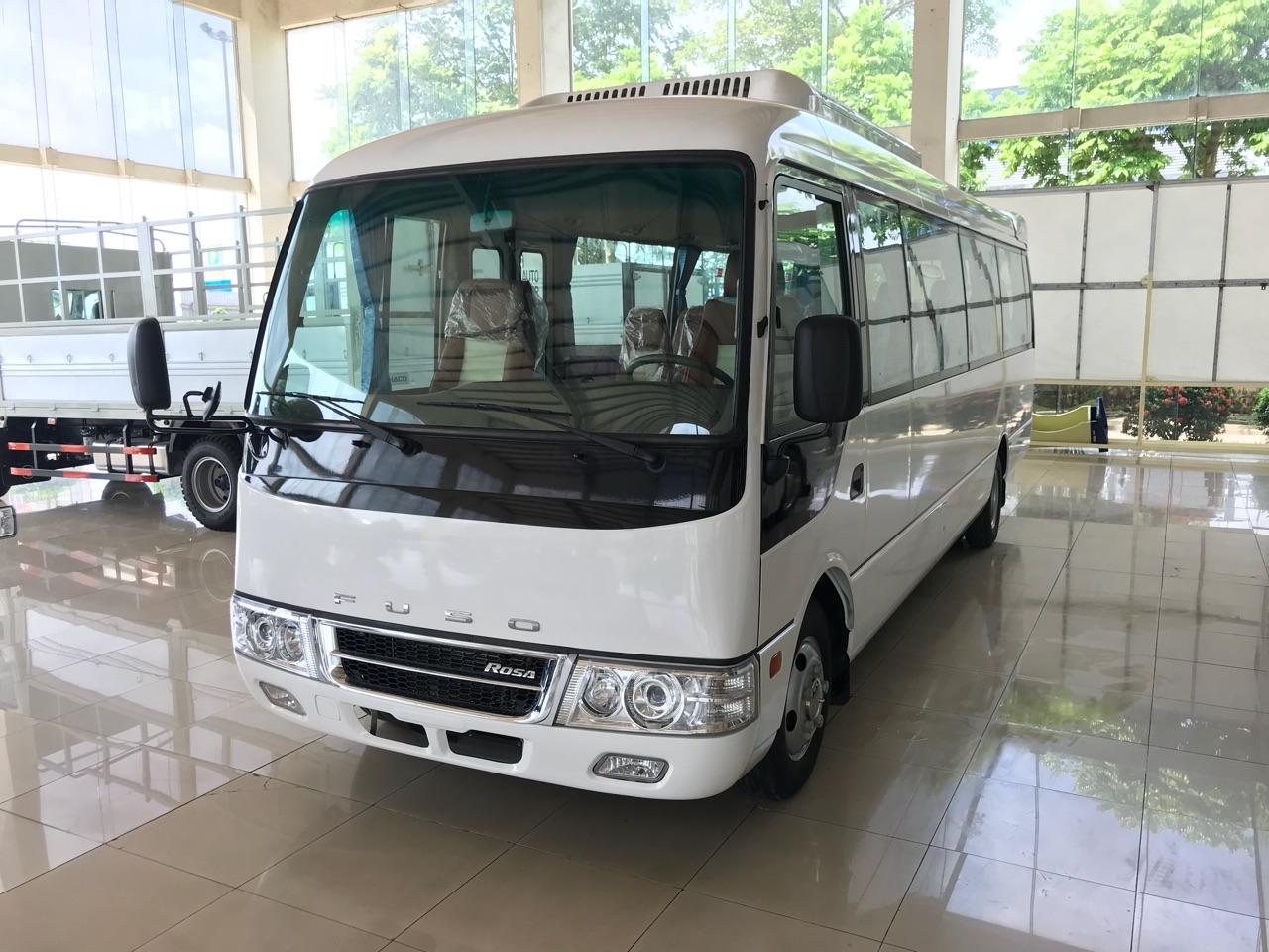 Xe khách 29 ghế ngồi Fuso Rosa tại Hải Phòng